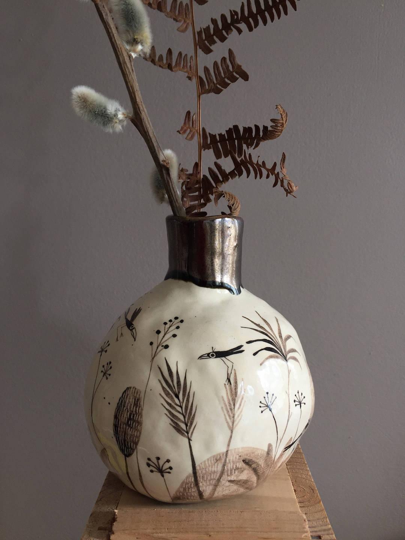 Handcrafted vase