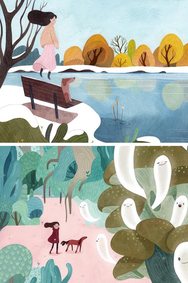 Illustrations by Vivian Mineker