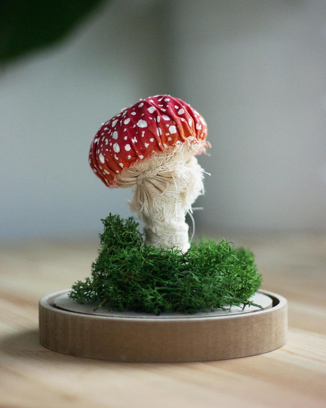 Faux Mushroom by Emily Yeadon