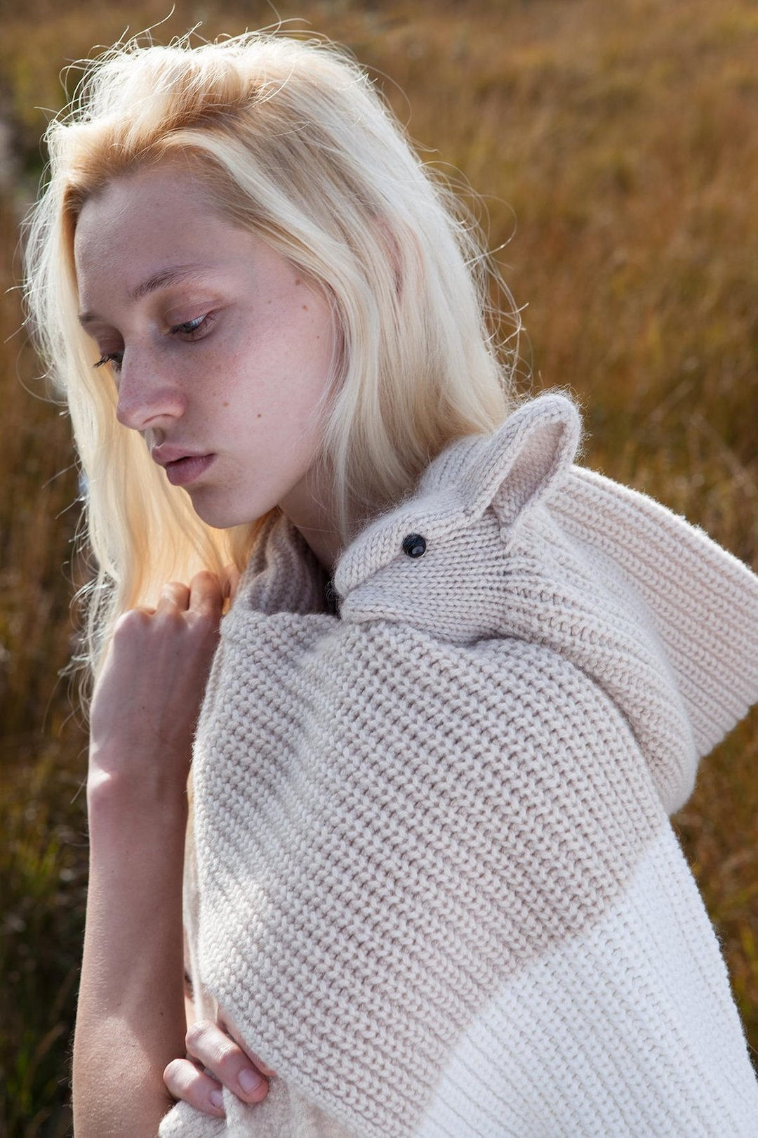 Animal scarf by Nina Fuehrer