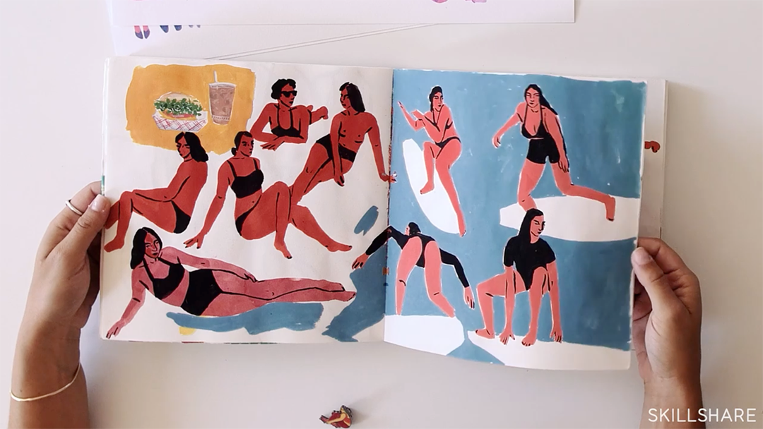 Sketchbook by Leah Goren