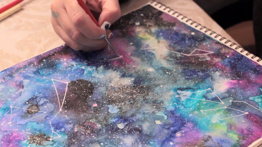 Take a watercolor class on Skillshare