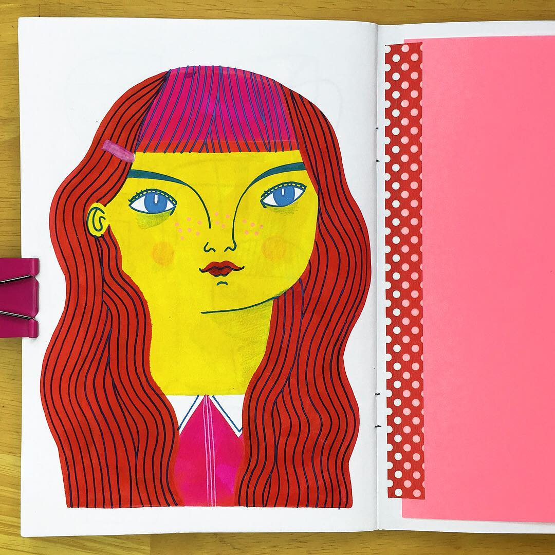 Sketchbook drawings by Anke Weckmann