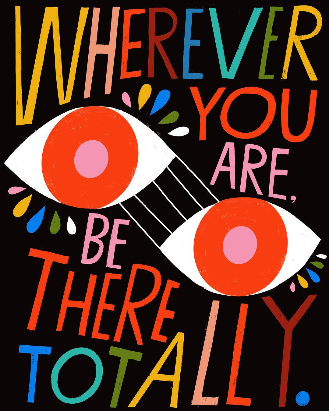 Hand lettering illustration by Lisa Congdon