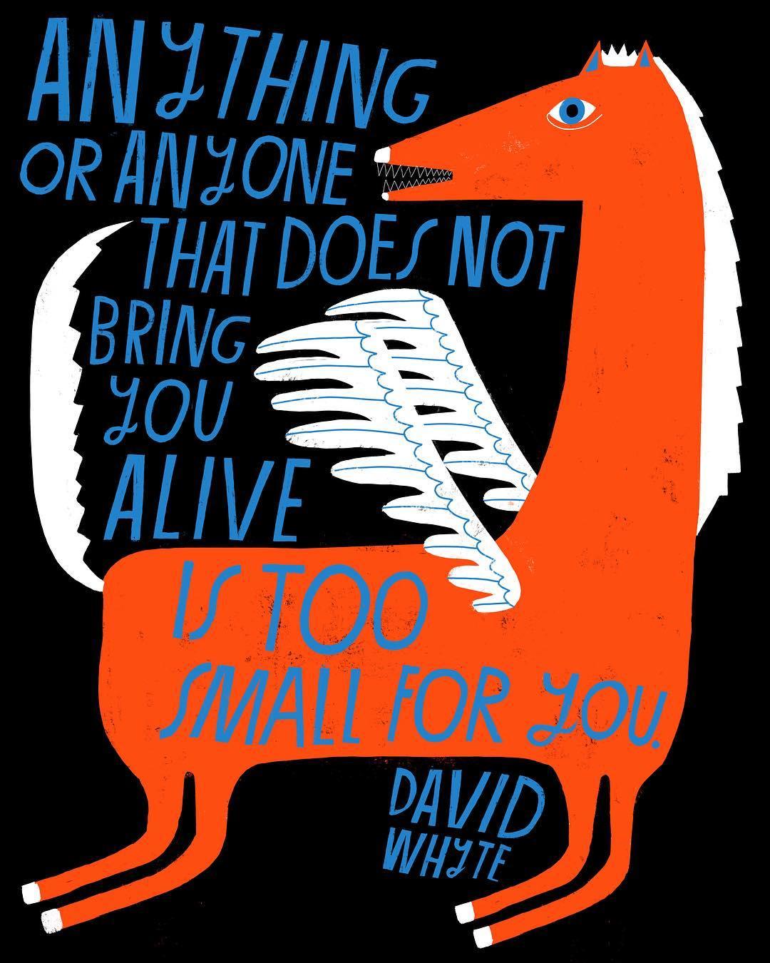 Hand lettering illustration by Lisa Congdon