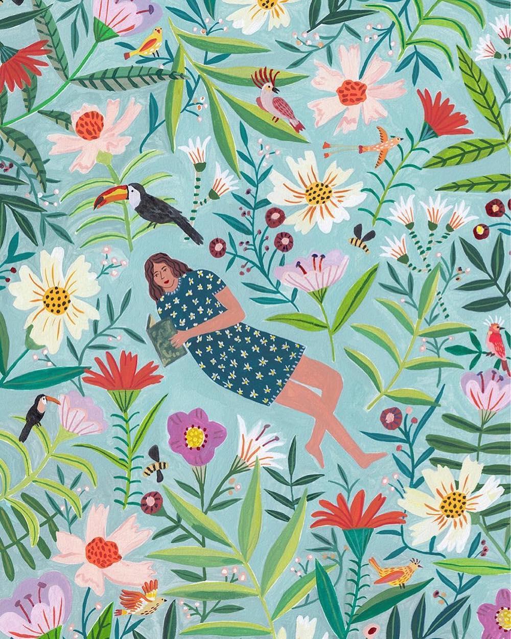 Cozy illustration by Miranda Sofroniou