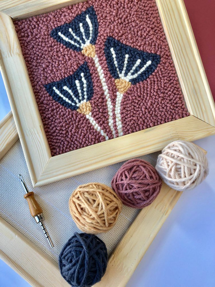Beginner Punch Needle Kits are Perfect