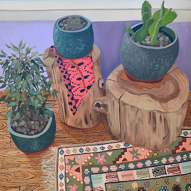 Still life painting by Anna Valdez