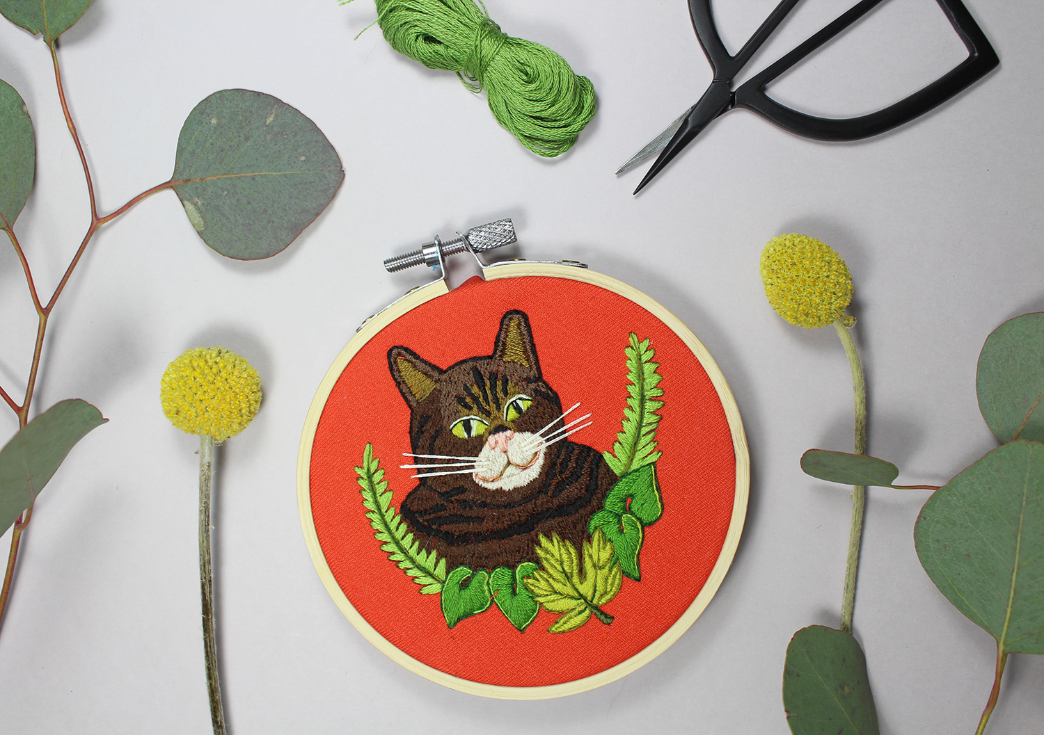 Cant embroidery by Sara Barnes