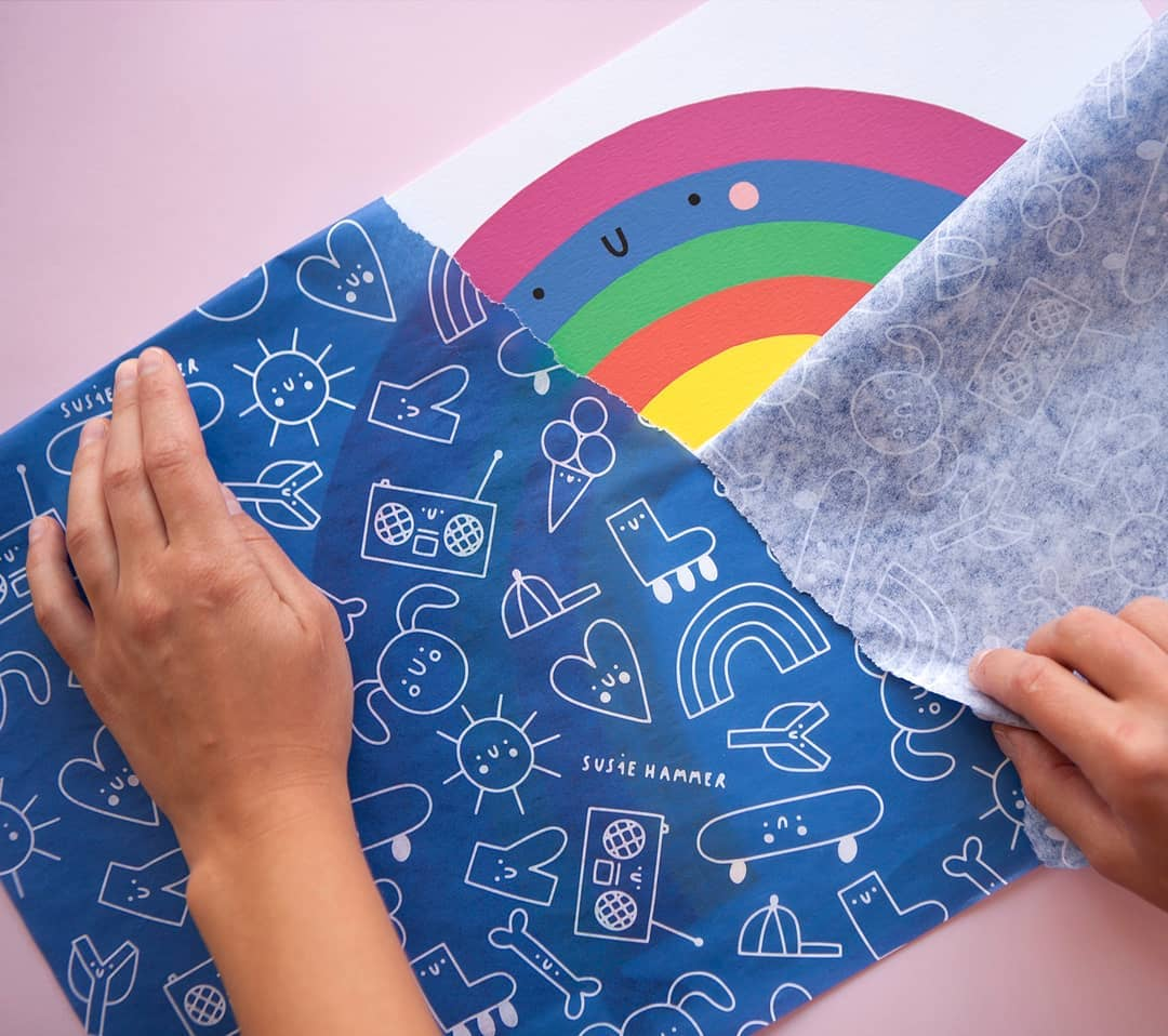Customized tissue paper by noissue