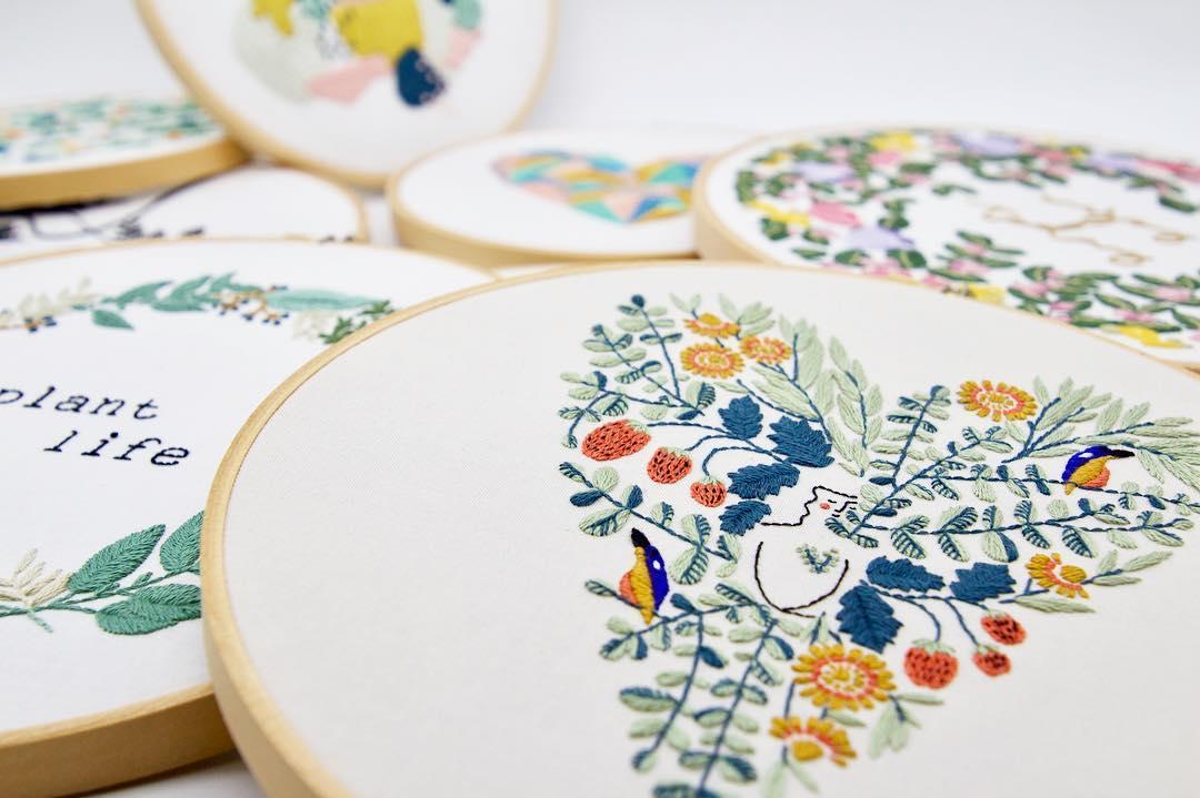 Threadfolk embroidery book