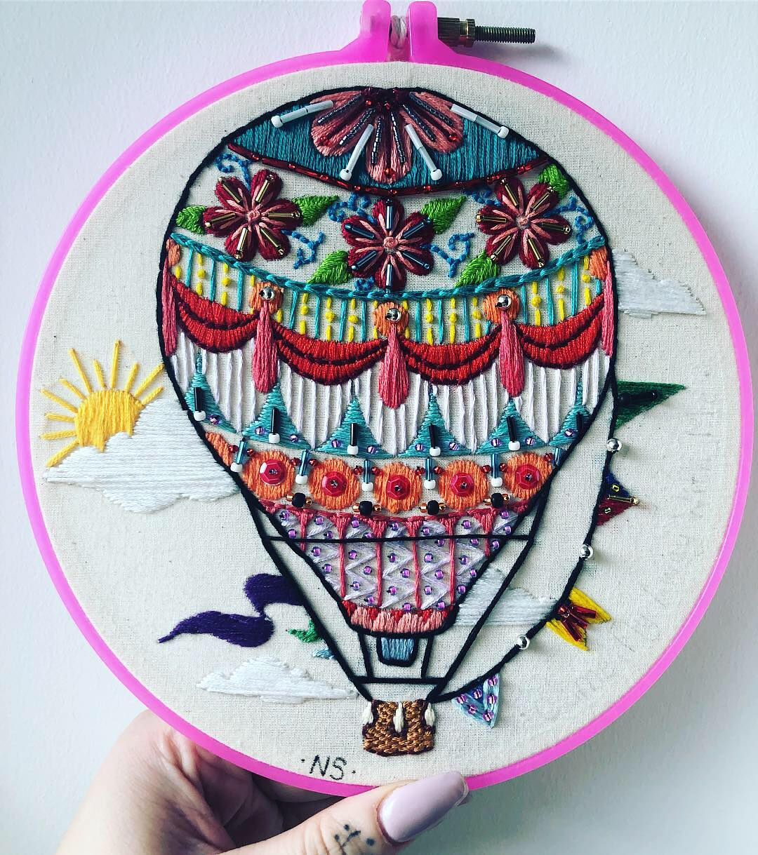 Embroidery by Natalie Sedgewick