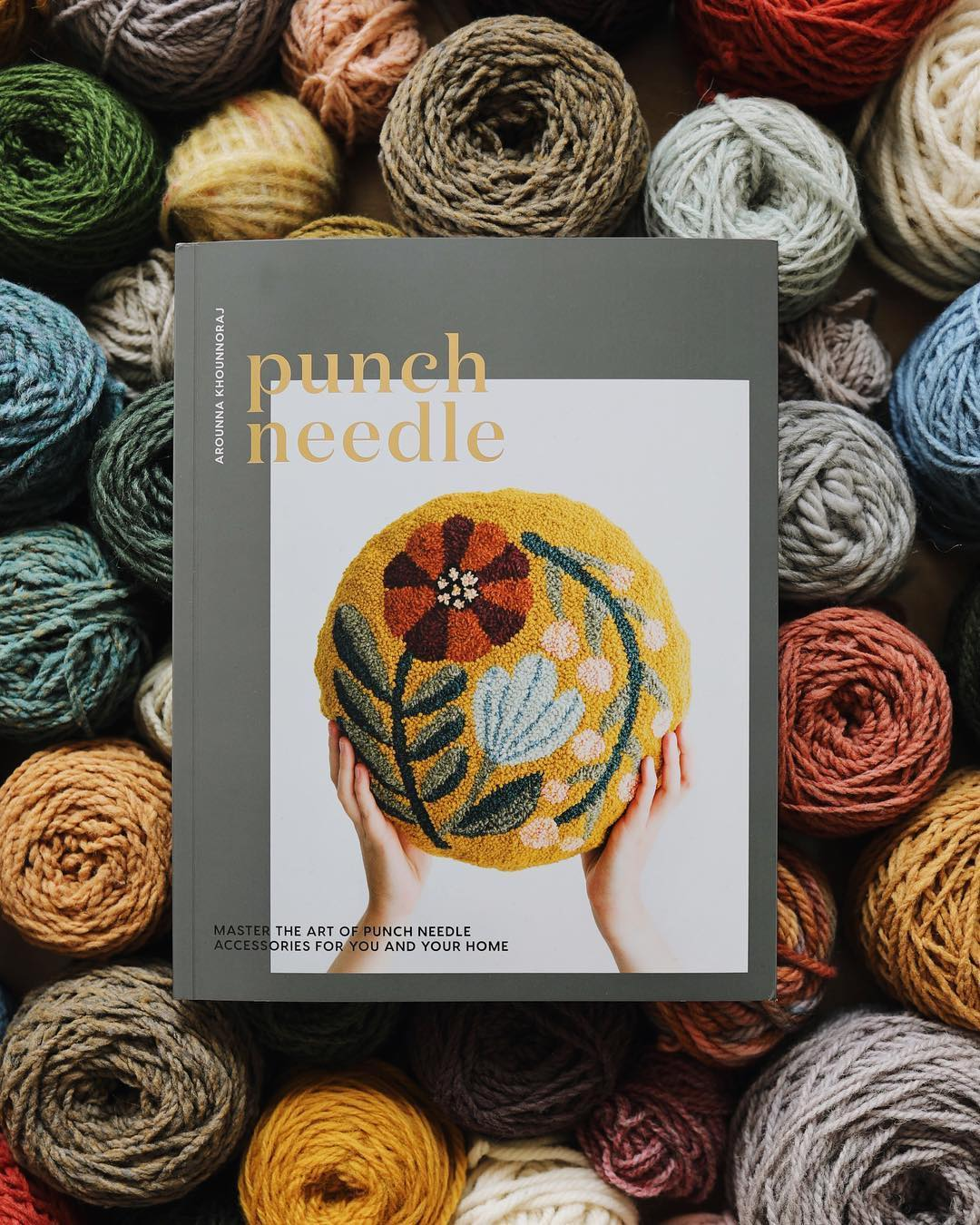 Punch Needle Embroidery Book