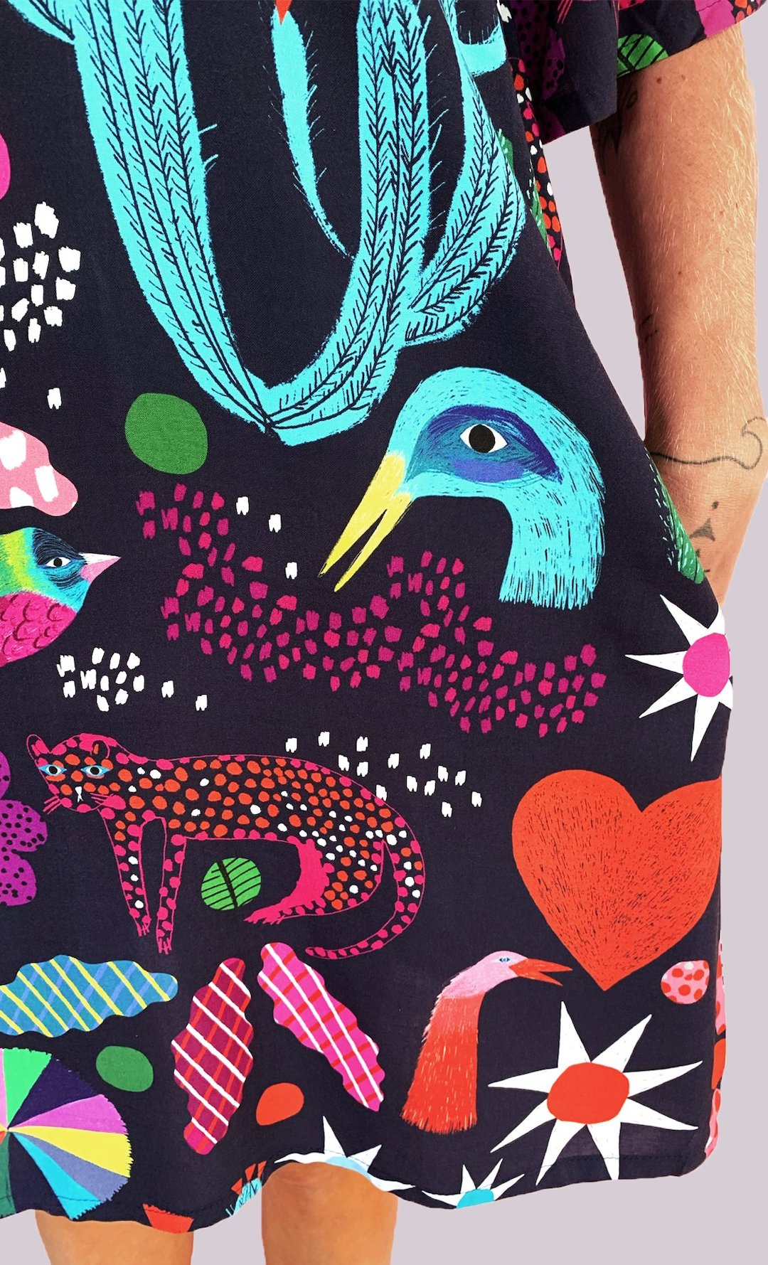 Illustrated clothes by Doops Design