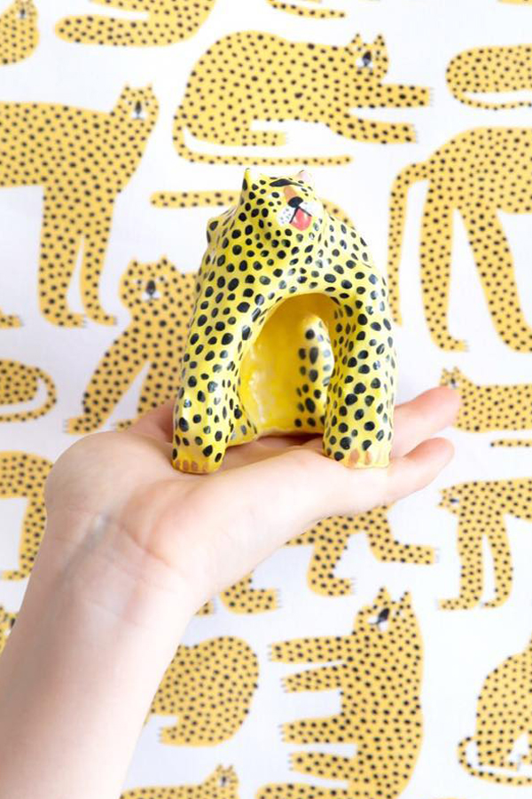 Ceramic sculptures by Min Pin