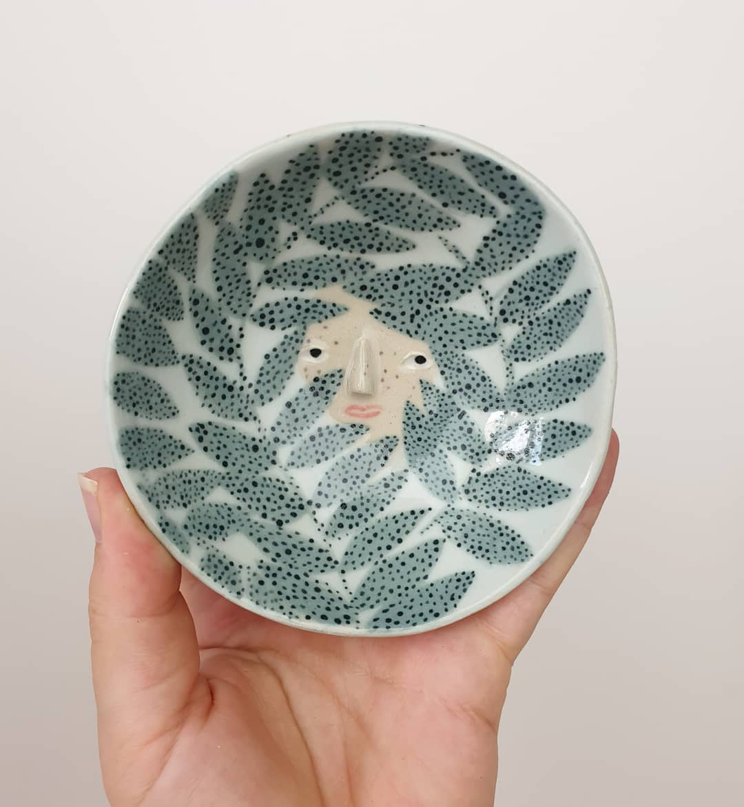 """Personality-Packed Plates and Pots Lead the Way in """"The Pottery Parade"""""""