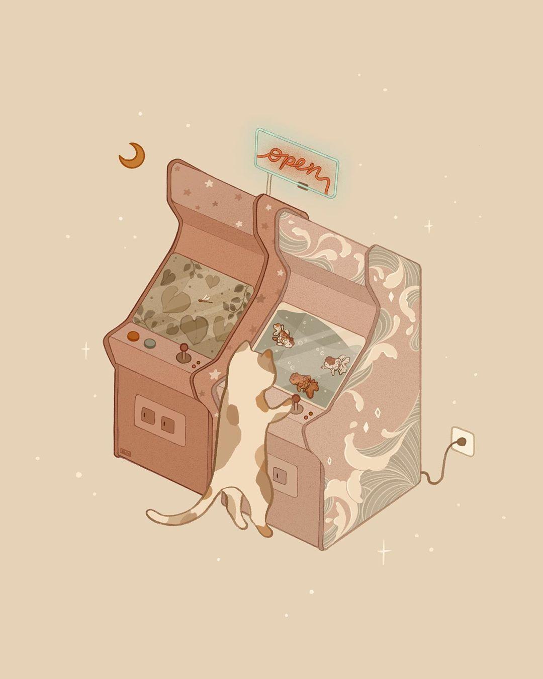 Cat illustration by Angie Nguyen