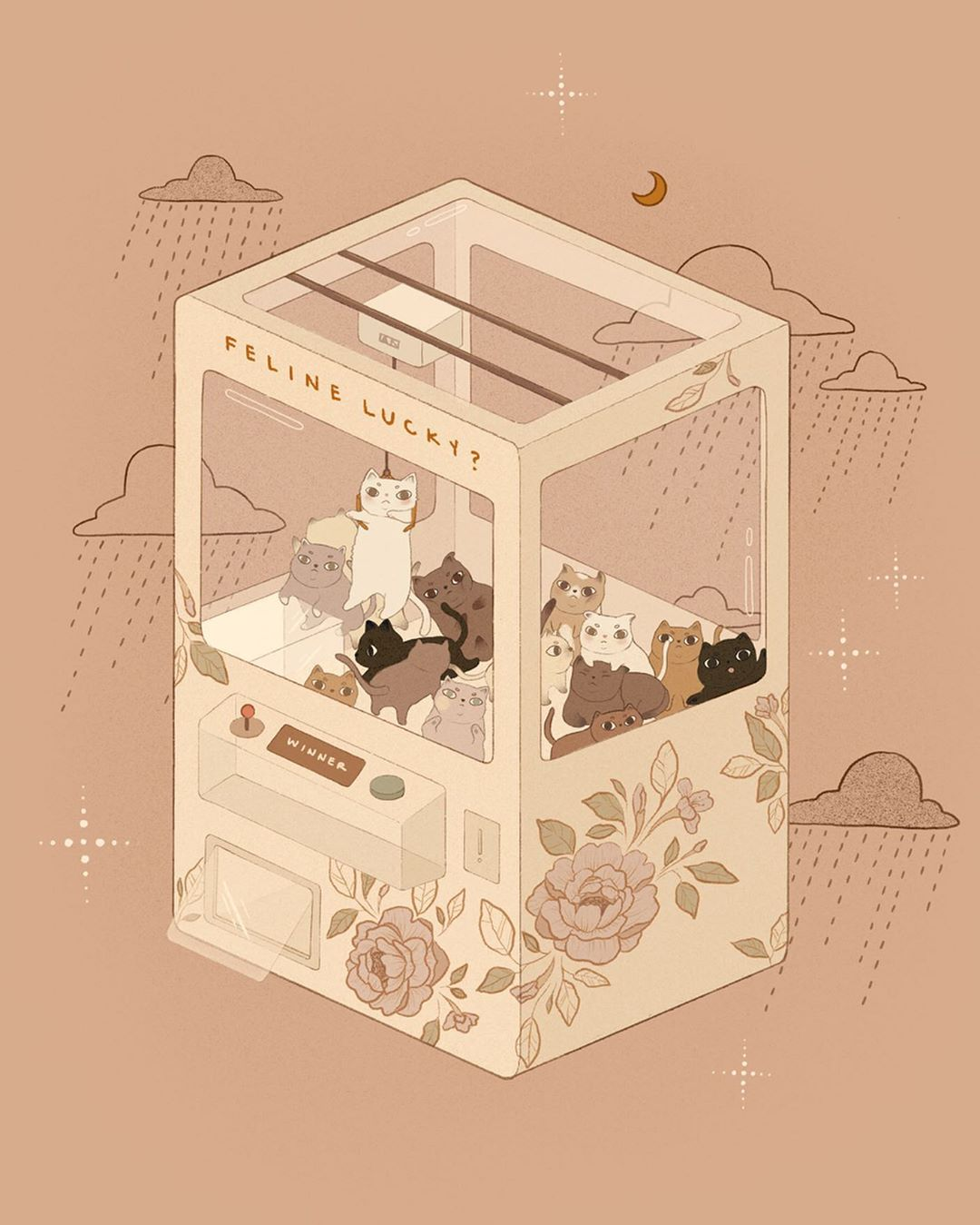 These Dreamlike Illustrations Will Appeal to Cat-Loving Children of the 1990s