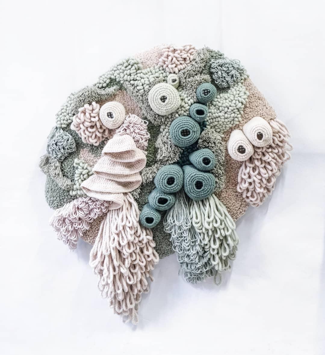 Ocean tapestry by Vanessa Barragão