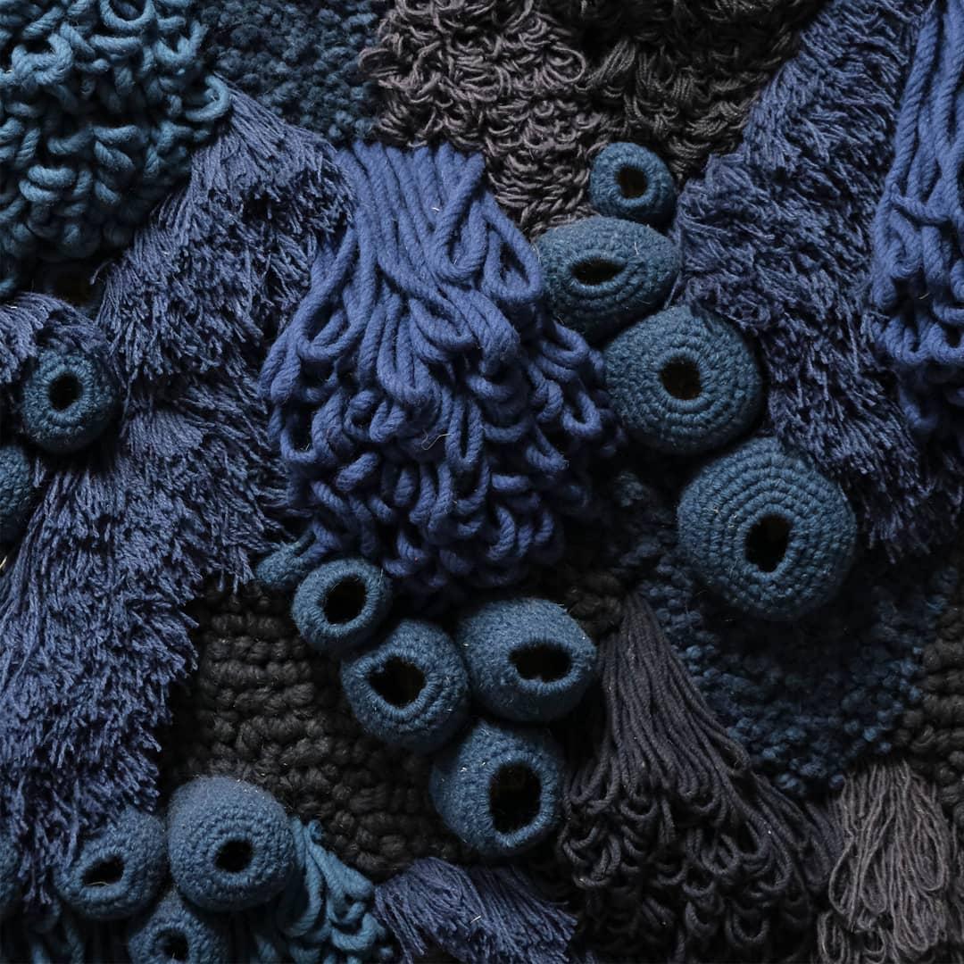 Textile art by Vanessa Barragão