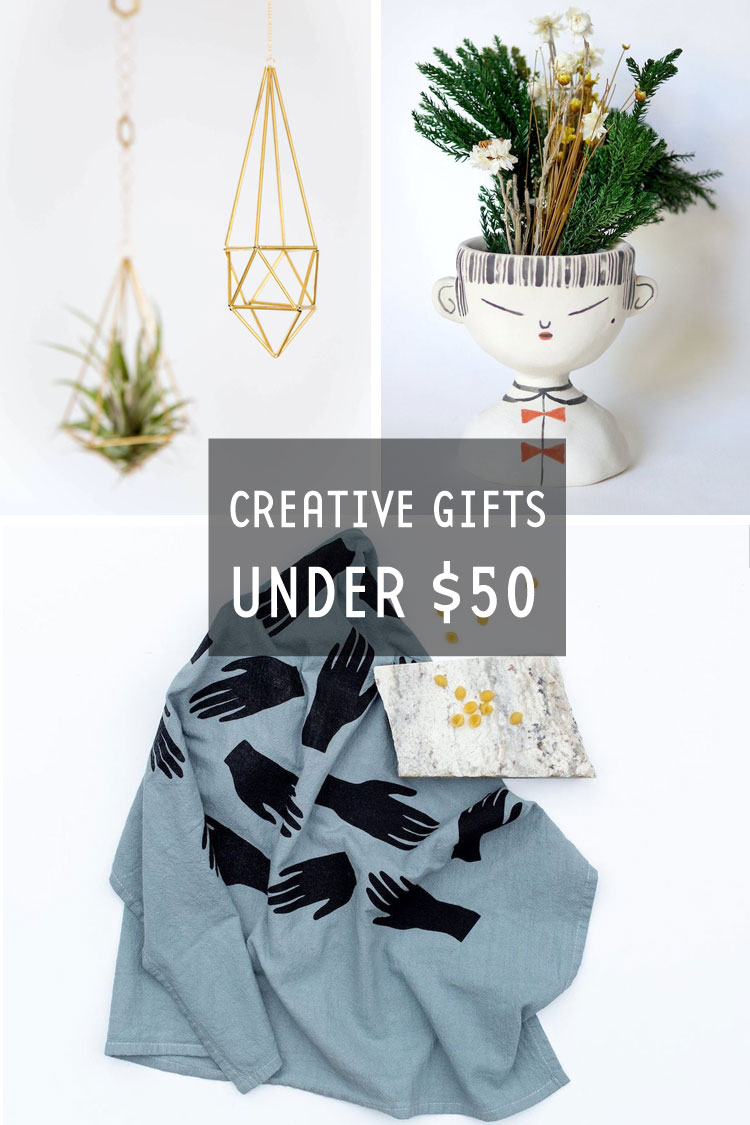 Creative gifts under $50