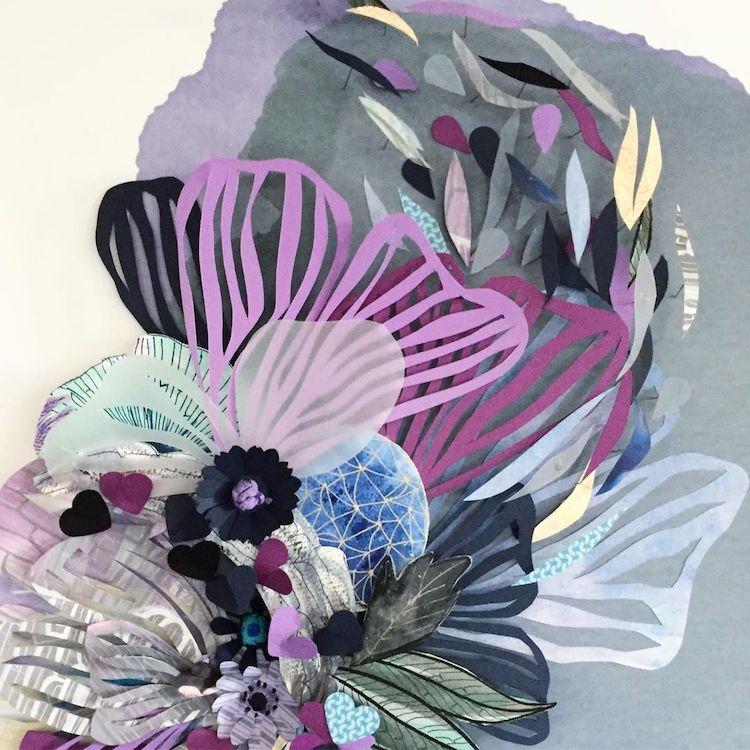 Abstract art by Maggie Ramirez Burns