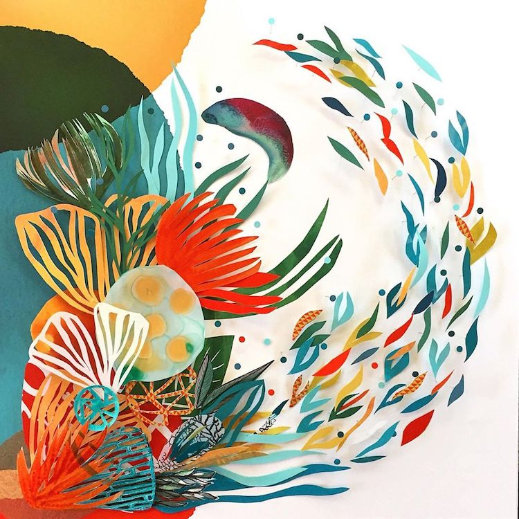 """Cut paper collage by <a href='https://miifplus.com/tag/maggie-ramirez-burns/' target='_self' rel='nofollow' title='Maggie Ramirez Burns'>Maggie Ramirez Burns</a>"""" width=""""750″ height=""""750″ srcset=""""https://www.brwnpaperbag.com/wp-content/uploads/2020/01/maggie-ramirez-burns-collage-4.jpg 750w, https://www.brwnpaperbag.com/wp-content/uploads/2020/01/maggie-ramirez-burns-collage-4-300×300.jpg 300w, https://www.brwnpaperbag.com/wp-content/uploads/2020/01/maggie-ramirez-burns-collage-4-150×150.jpg 150w"""" sizes=""""(max-width: 750px) 100vw, 750px"""" data-jpibfi-post-excerpt="""""""" data-jpibfi-post-url=""""https://www.brwnpaperbag.com/2020/01/02/maggie-ramirez-burns-collage-art/"""" data-jpibfi-post-title=""""Colorful Collisions in the Nature-Inspired Collages of <a href='https://miifplus.com/tag/maggie-ramirez-burns/' target='_self' rel='nofollow' title='Maggie Ramirez Burns'>Maggie Ramirez Burns</a>"""" data-jpibfi-src=""""https://www.brwnpaperbag.com/wp-content/uploads/2020/01/maggie-ramirez-burns-collage-4.jpg""""></p> <p><img class="""