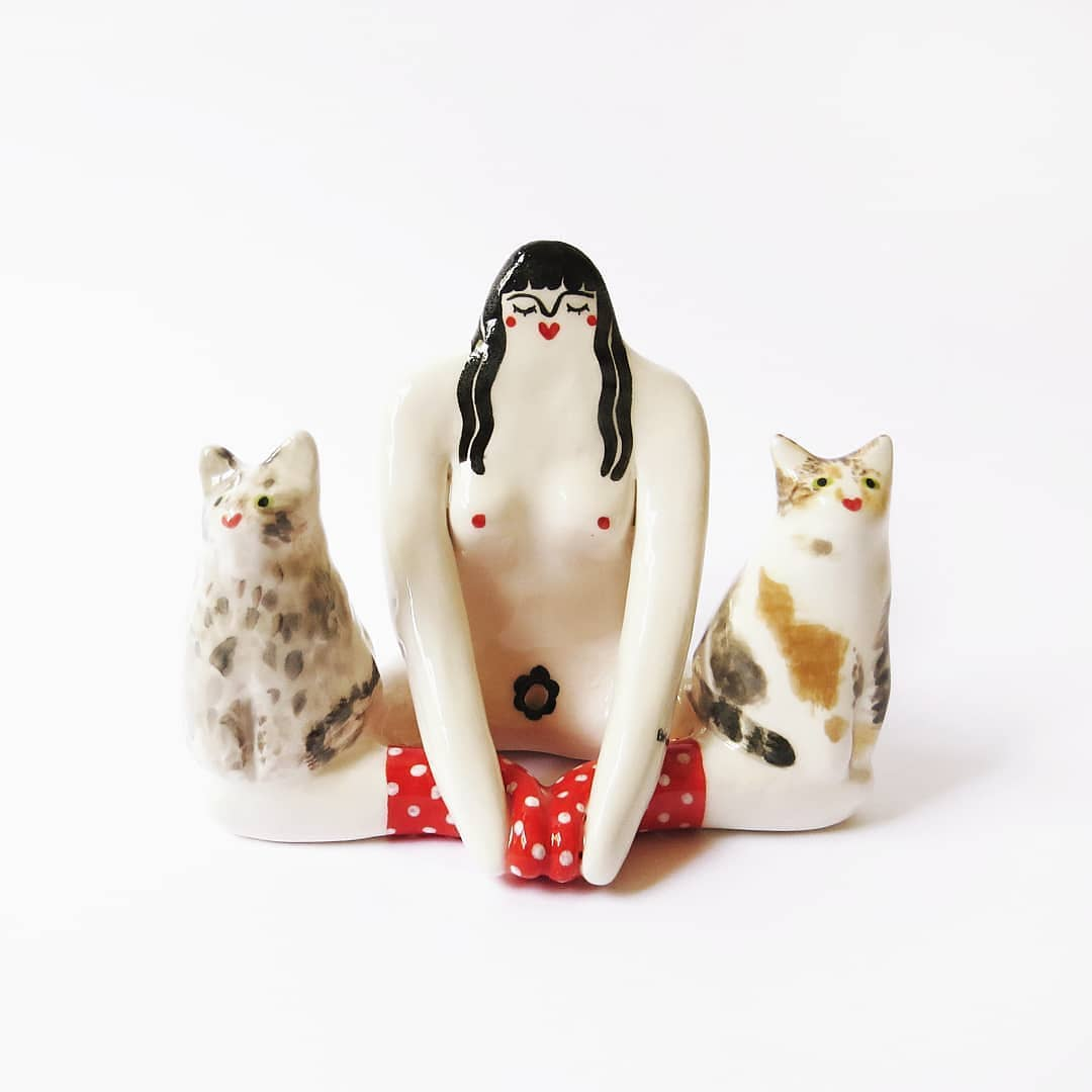 These Customized Ceramic Incense Holders Bare All (Literally)
