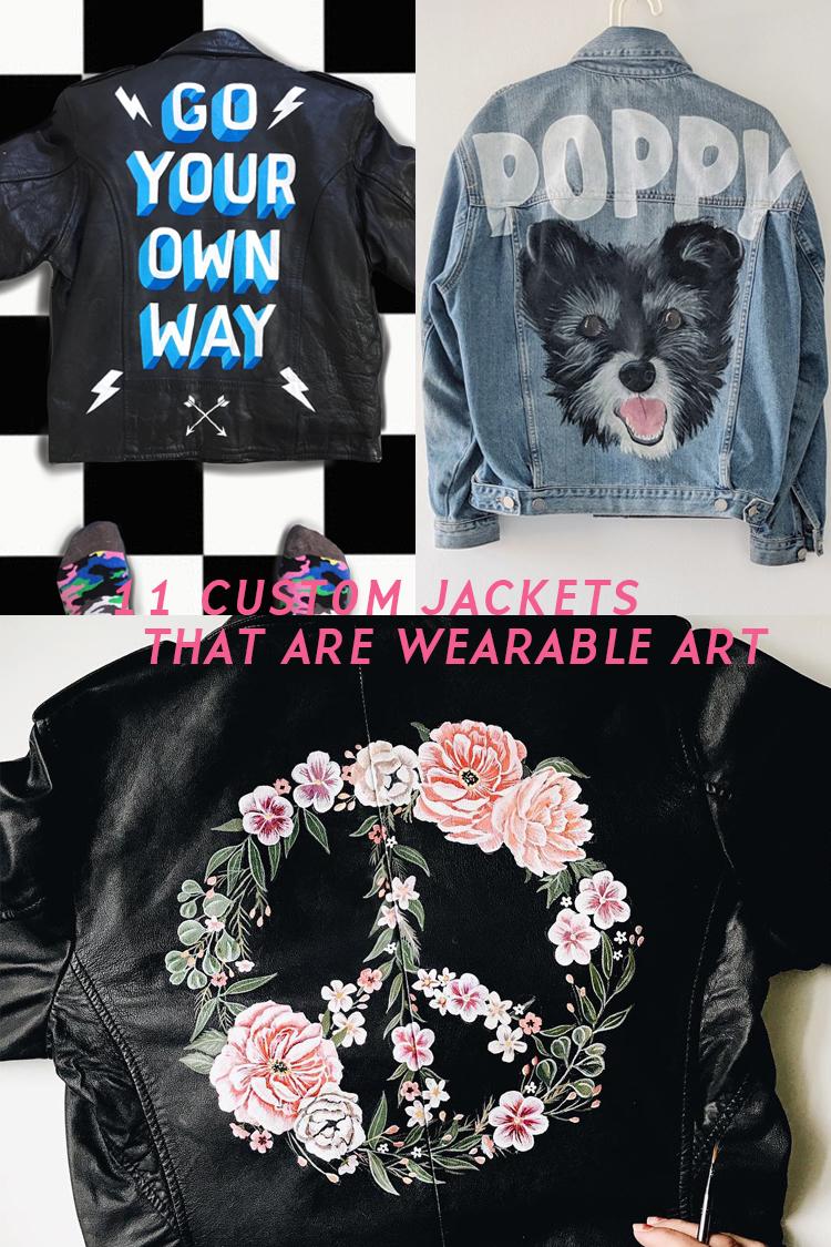 11 Illustrative Custom Jackets That Double as Wearable Art