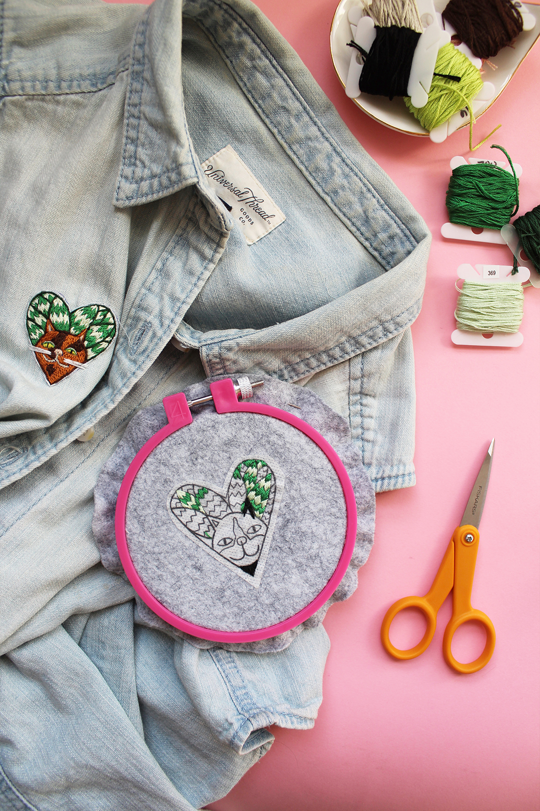 I'm on Vacation! See You on July 6 — Stitch My Free Embroidery Pattern in the Meantime!
