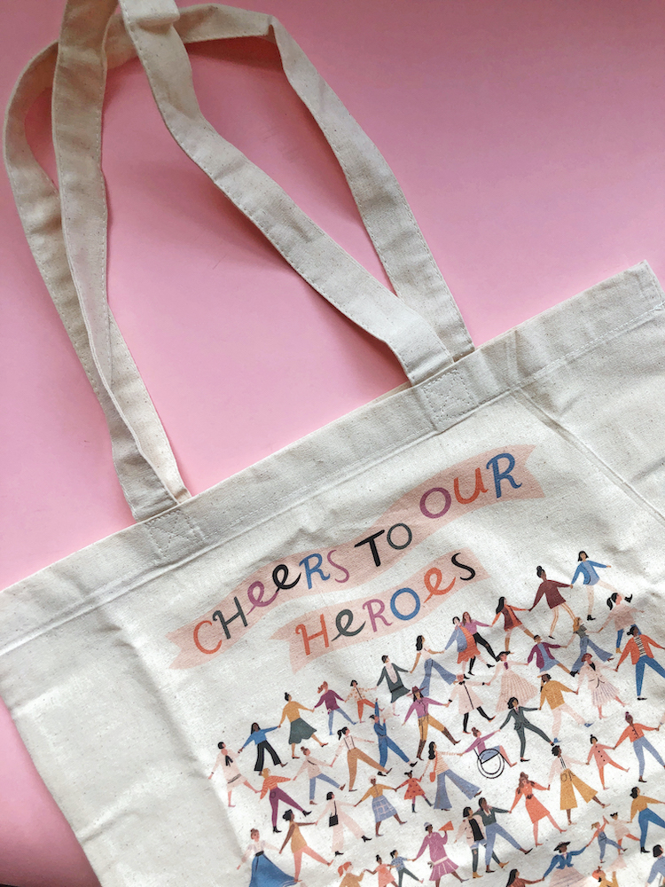 Tote bag by Seattle Chocolate and Libby VanderPloeg
