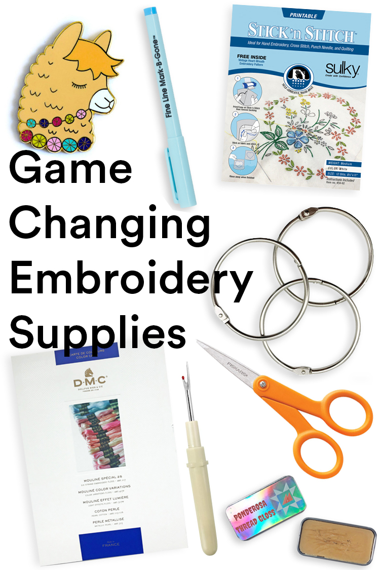 Best Embroidery Supplies