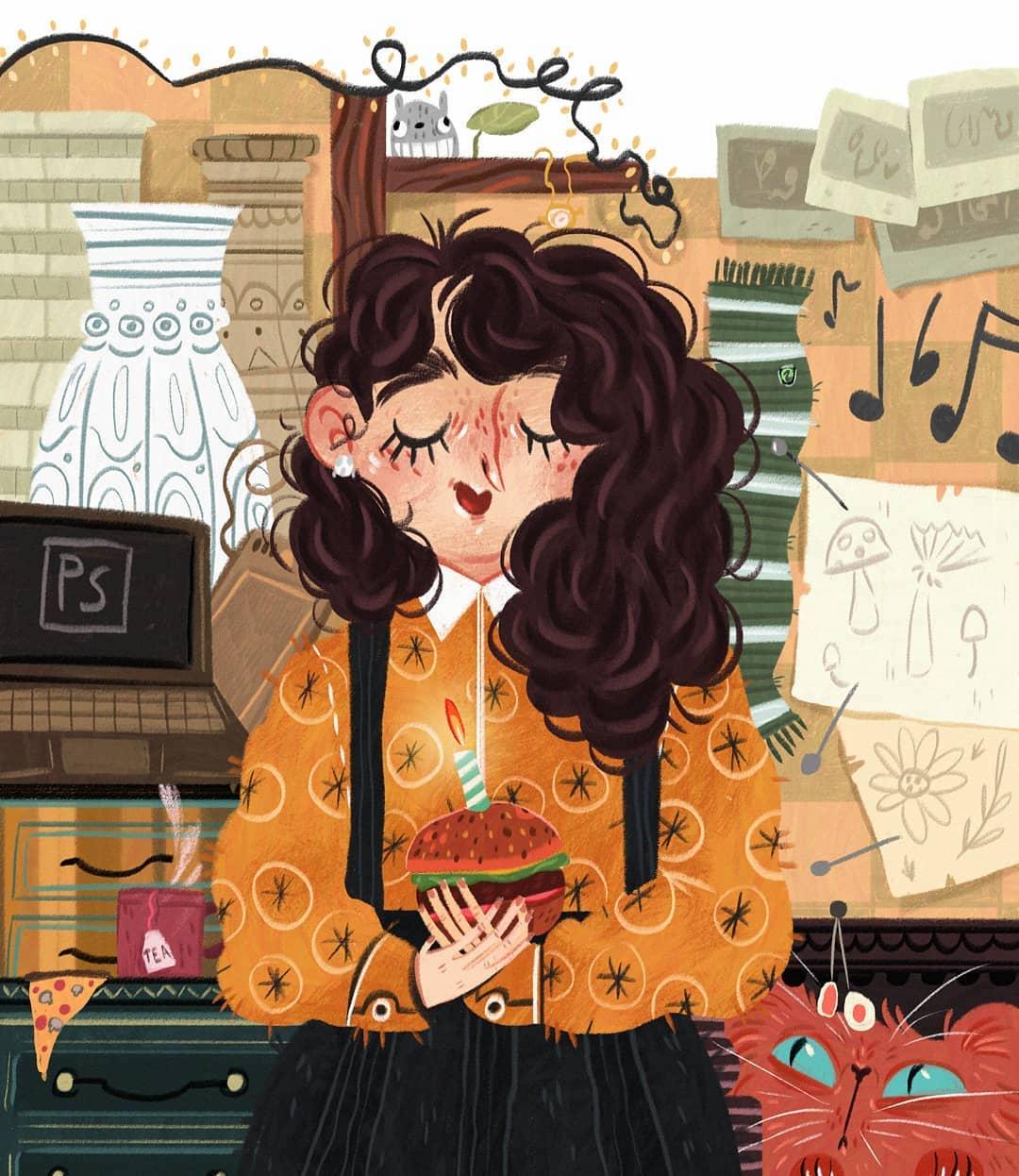 Digital illustration by Laura Proietti