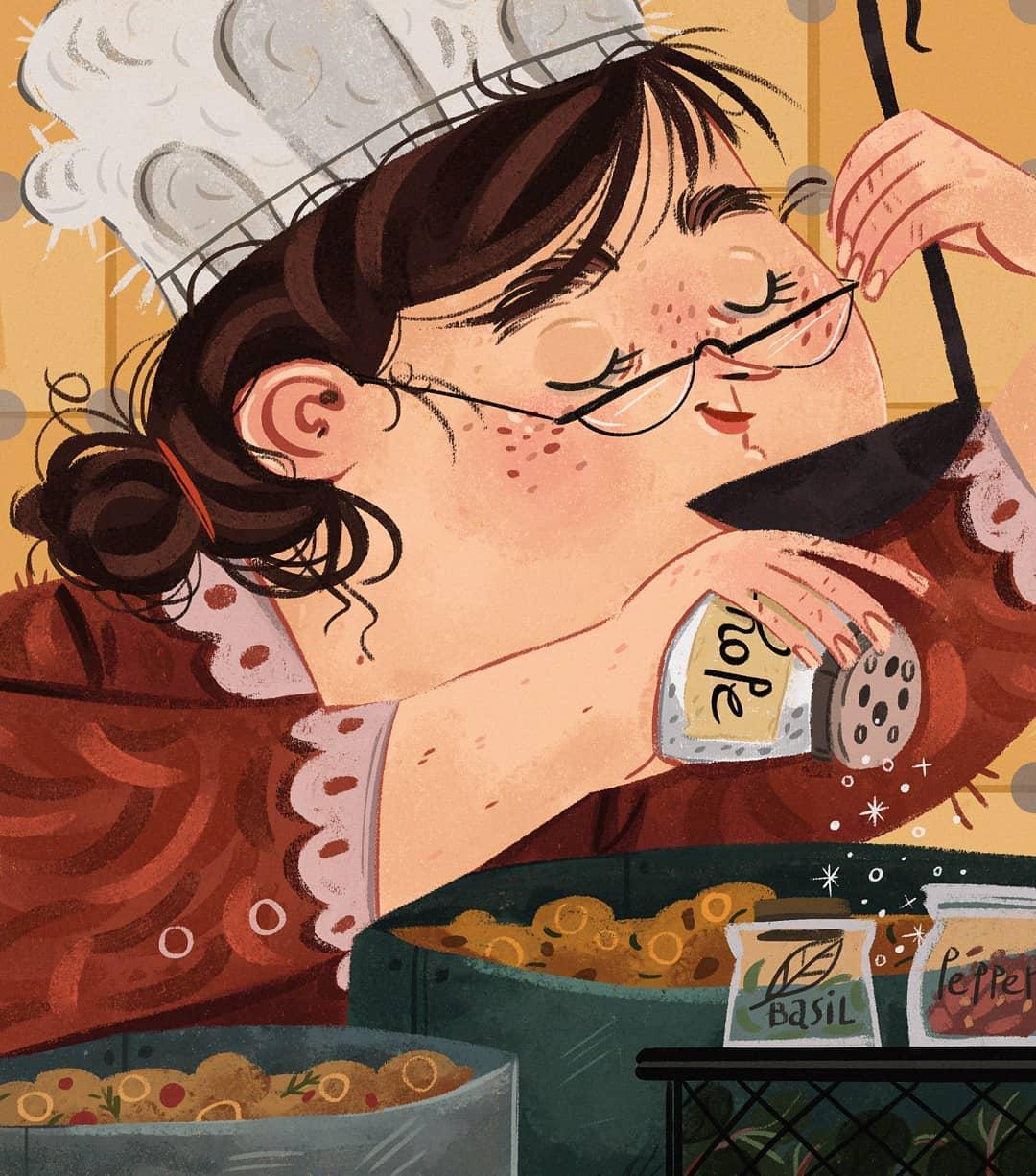 Digital art by Laura Proietti