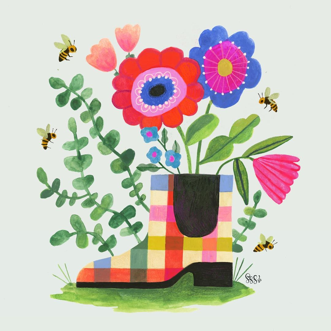 Nature-Inspired Illustration by Shannon Snow