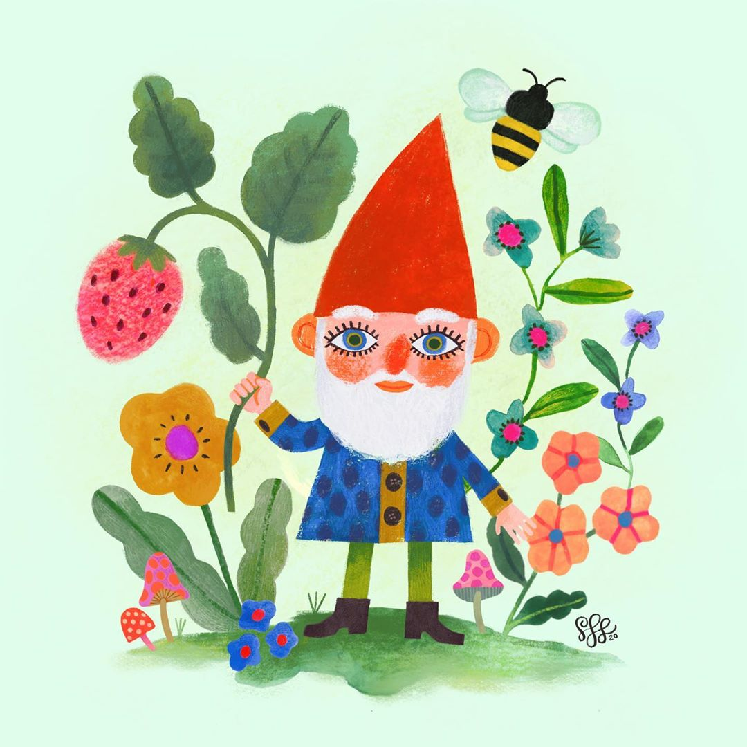 Gnome illustration by Shannon Snow