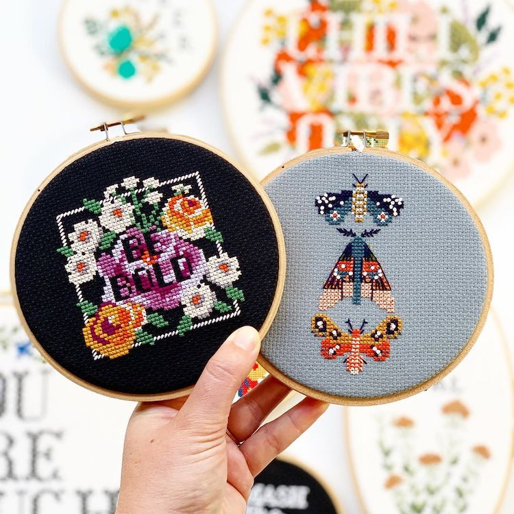 Subversive Cross Stitch Kits Include Everything You Need to Make a Statement