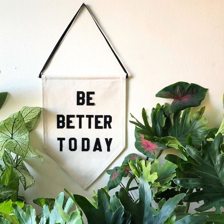 Need Some Wise Words? Just Look to These Handcrafted Pennants