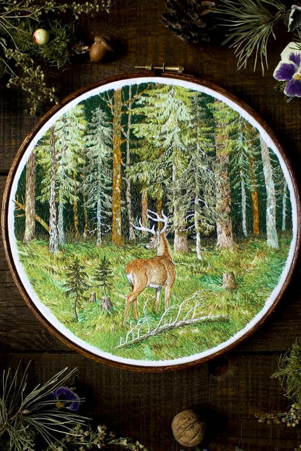 Thread Painting by Jūra Gric