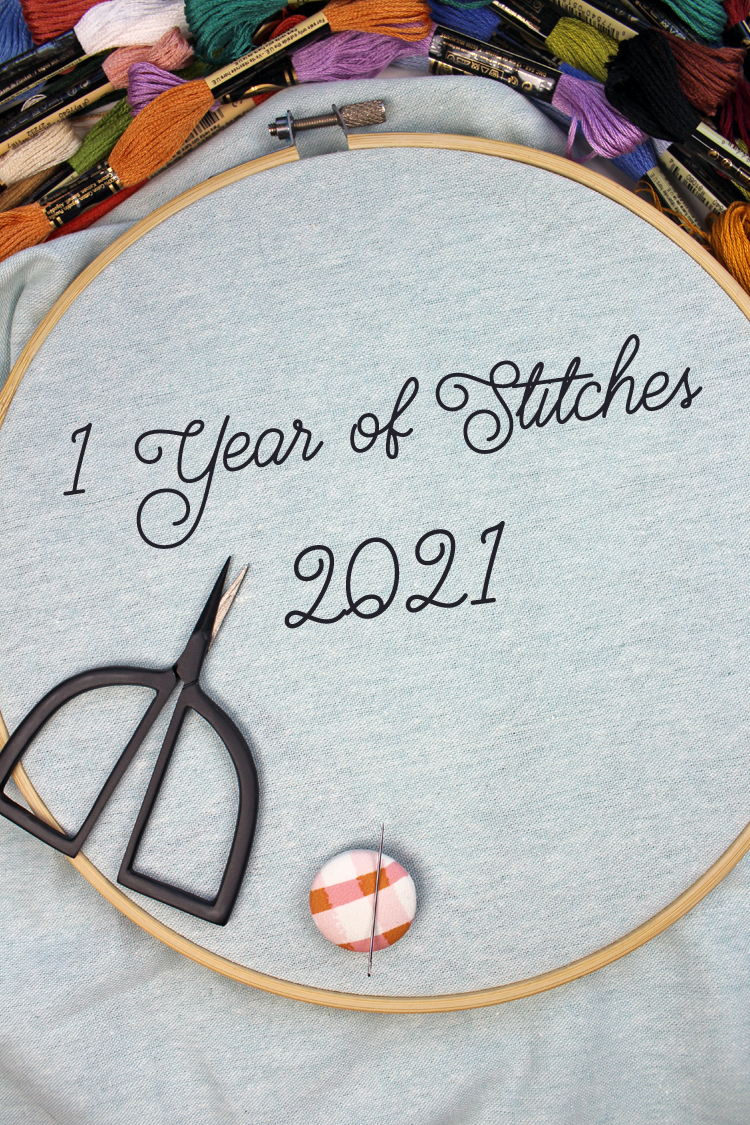 Make 2021 Your Year of Embroidery With the Daily '1 Year of Stitches' Project