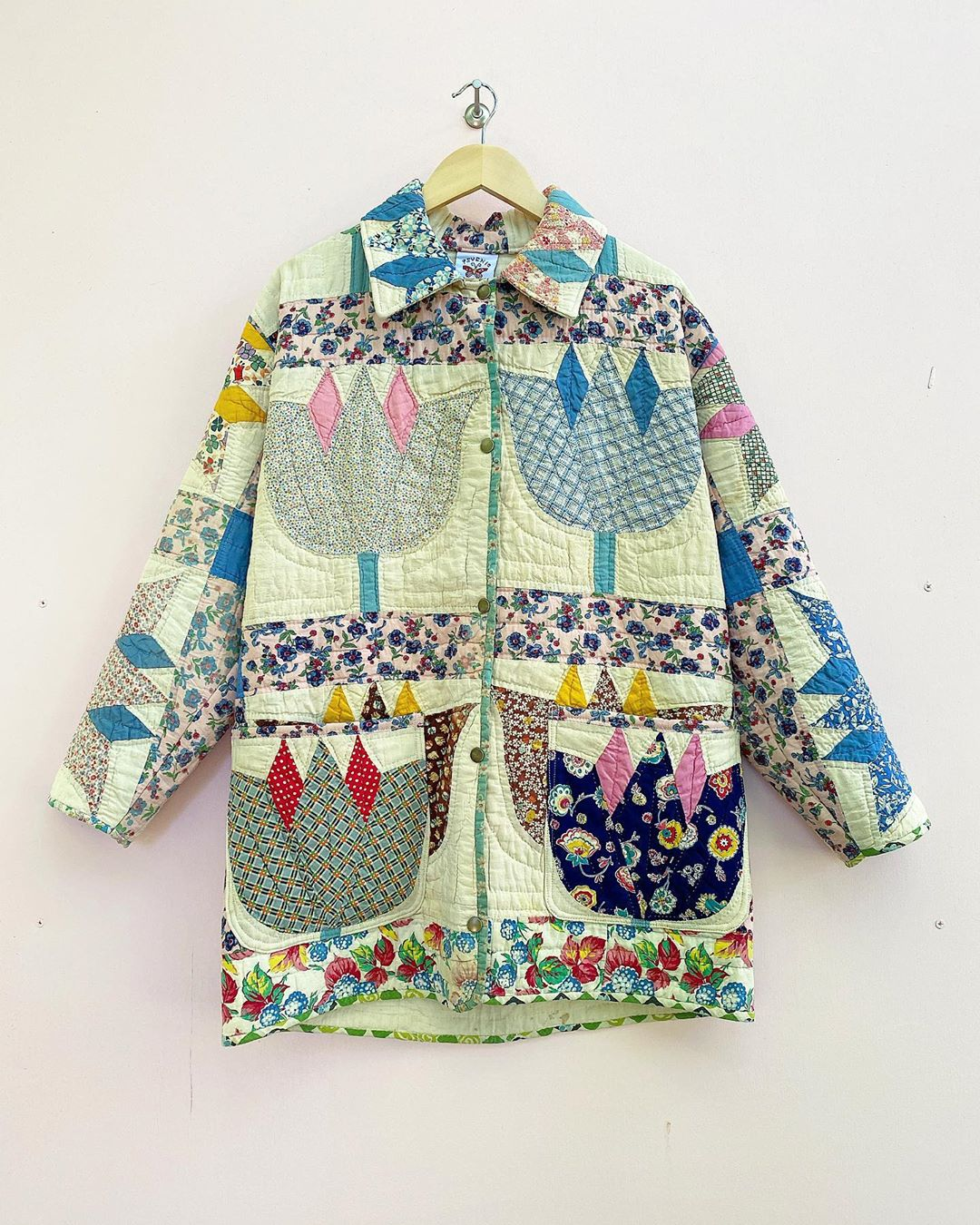 Quilted coat by Psychic Outlaw