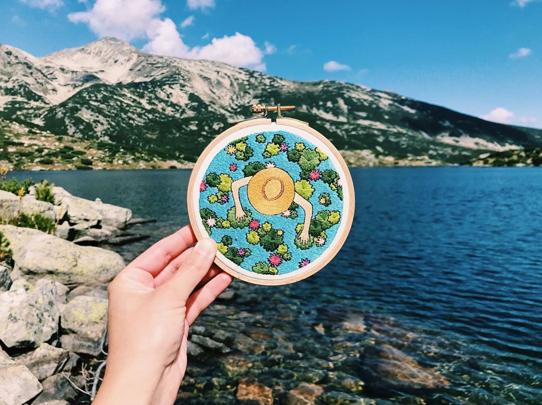 Contemporary Embroidery by Mina Ivanova
