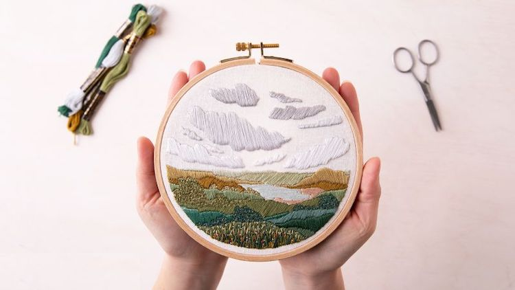 Learn New Embroidery Techniques Online With Step-by-Step Classes