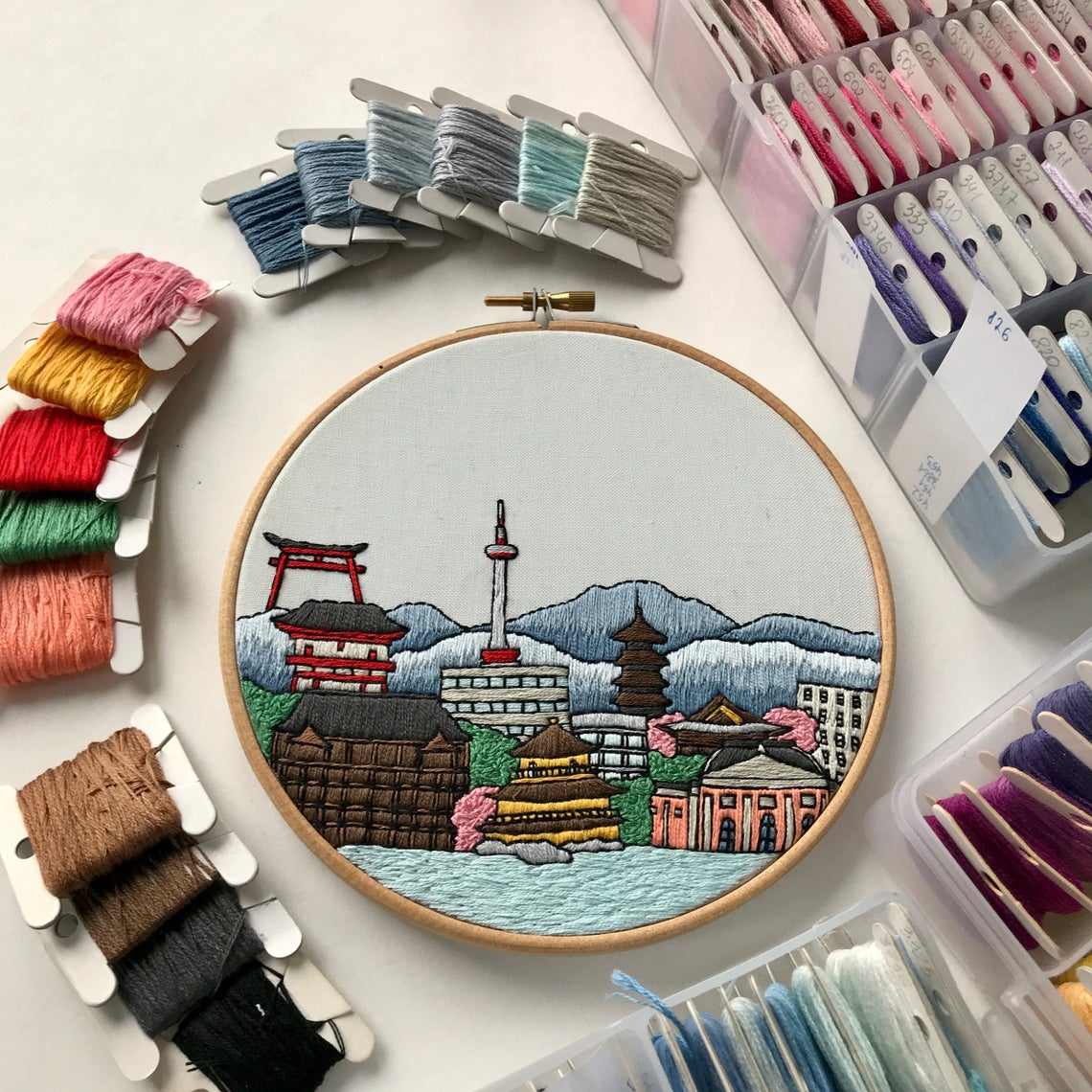 Contemporary Embroidery Pattern