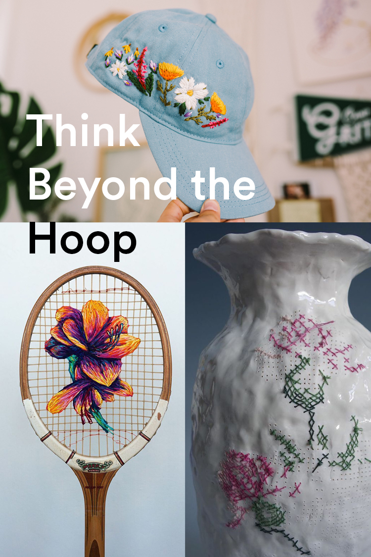 How 8 Artists Are Thinking Beyond the Embroidery Hoop To Create Awe-Inspiring Designs