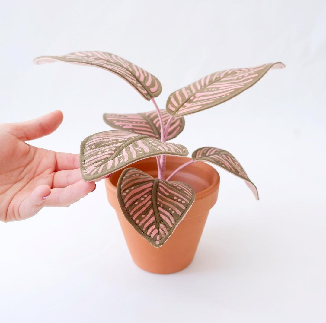 No Green Thumb? No Problem With These Life-Size Fabric Plants