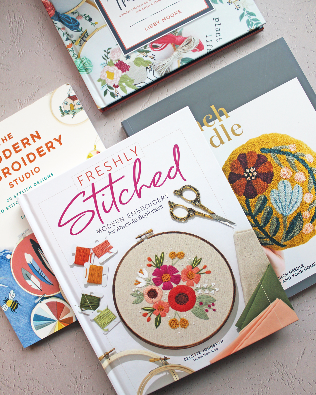 Embroidery How-To Books