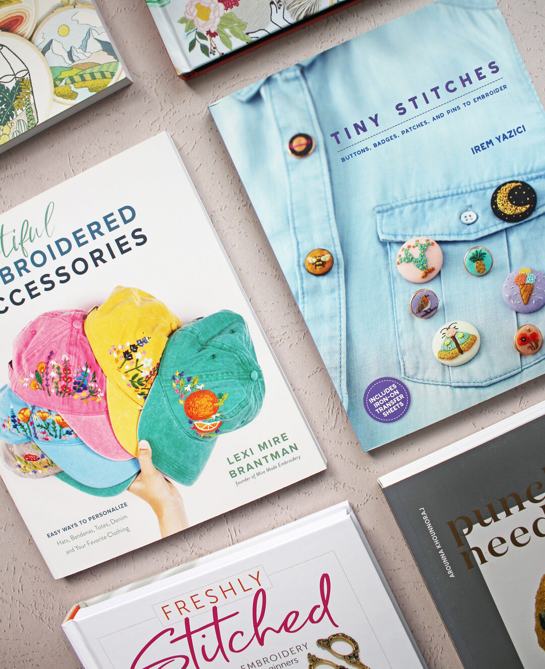 7 Embroidery Books That Offer Step-by-Step Instruction to Stitching Lovely Projects