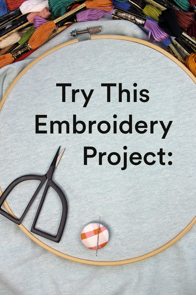 Improve Your Stitching When You Treat Embroidery Like Pringles