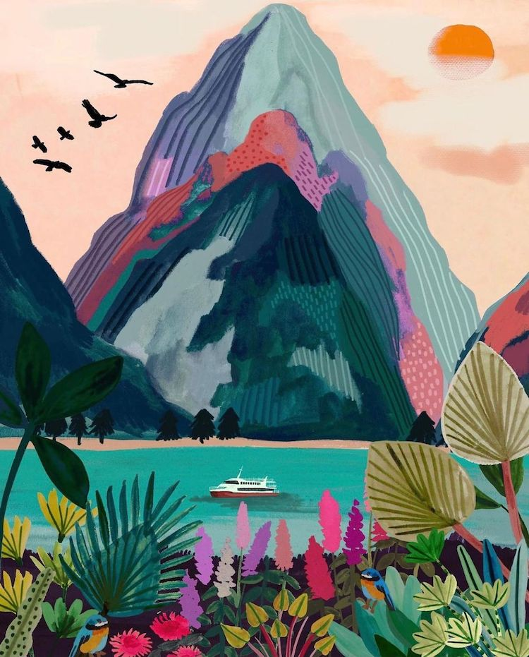 These Dreamy Illustrations Will Inspire the Wanderlust in You